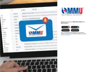 webmail.mmu.edu.my screenshot
