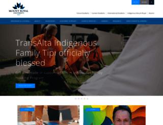 webmail.mymru.ca screenshot