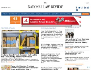 webmail.natlawreview.com screenshot