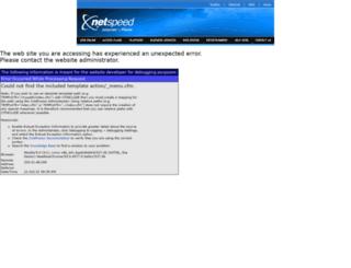 webmail.netspeed.com.au screenshot