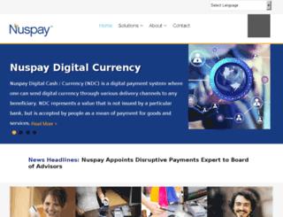 webmail.nuspay.com screenshot