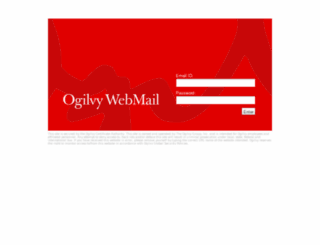 webmail.ogilvy.com screenshot