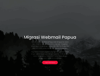 webmail.papua.go.id screenshot