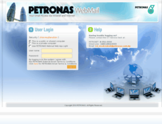 webmail.petronas.com.my screenshot