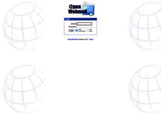 webmail.plustek.com screenshot