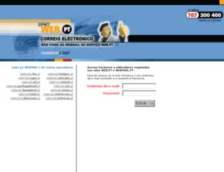 webmail.pt screenshot
