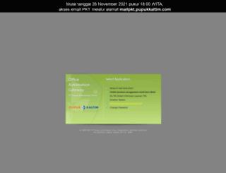 webmail.pupukkaltim.com screenshot