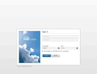 webmail.shomalinfo.ir screenshot