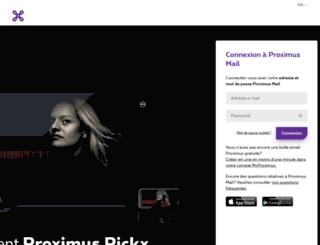 webmail.skynet.be screenshot