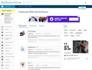 webmail.software.informer.com screenshot