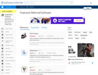 webmail.software.informer.com screenshot