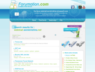 webmail.sorokindima.net screenshot