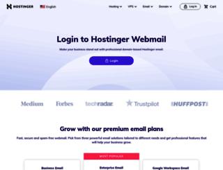 webmail.spot2get.com screenshot