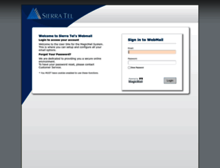 webmail.sti.net screenshot