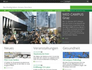 webmail.stud.meduni-graz.at screenshot
