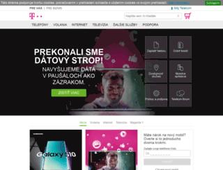webmail.t-com.sk screenshot