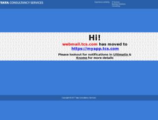 webmail.tcs.com screenshot