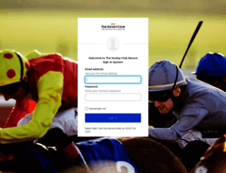 webmail.thejockeyclub.co.uk screenshot