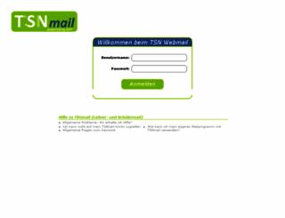 webmail.tsn.at screenshot