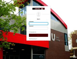 webmail.ucc.edu screenshot