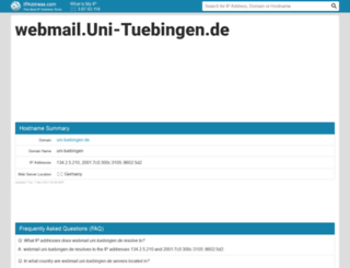 webmail.uni-tuebingen.de.ipaddress.com screenshot
