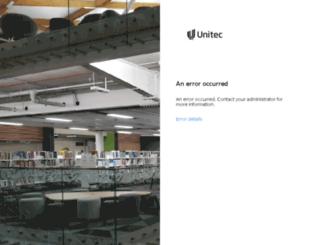 webmail.unitec.ac.nz screenshot