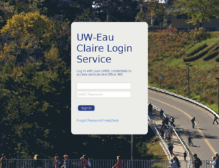 webmail.uwec.edu screenshot