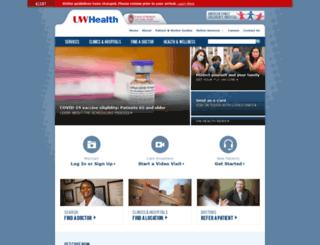 webmail.uwhealth.com screenshot