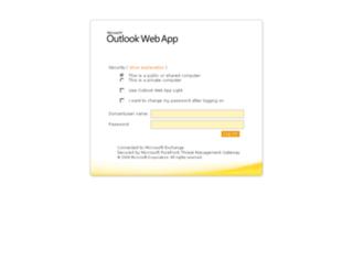 webmail.volkerwessels.com screenshot