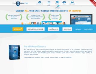 webmail.vpnarea.com screenshot