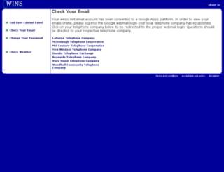 webmail.winco.net screenshot