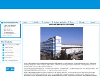 webmail.wmw.ro screenshot