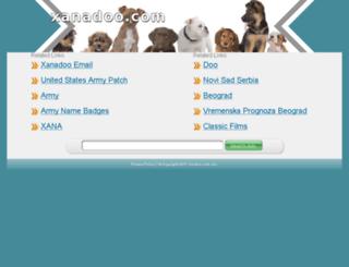 webmail.xanadoo.com screenshot