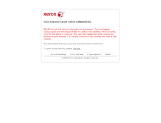 webmail.xerox.com screenshot