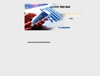 webmail.zucchetti.com screenshot
