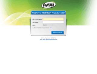 webmail1.capnova.com screenshot