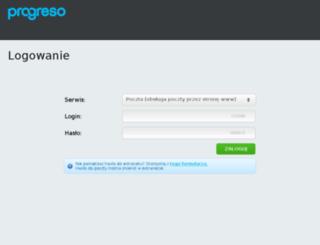 webmail21.progreso.pl screenshot
