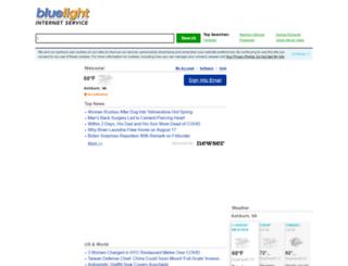 webmailb.mybluelight.com screenshot