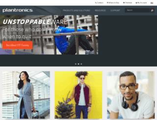 webmailplantronics.com screenshot
