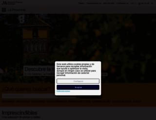webmalaga.com screenshot