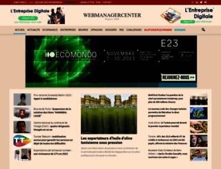 webmanagercenter.com screenshot