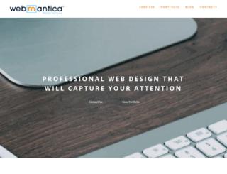 webmantica.com screenshot