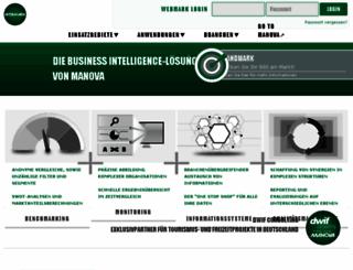 webmark.manova.at screenshot
