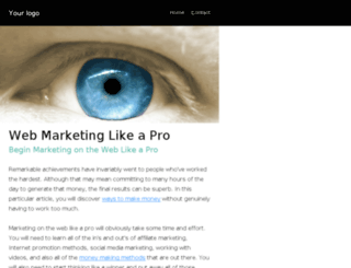 webmarketing.likeapro.me screenshot