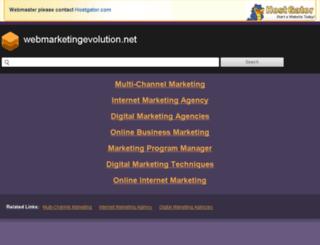 webmarketingevolution.net screenshot