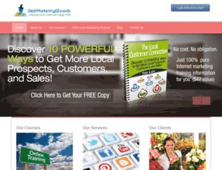 webmarketingwizards.com screenshot