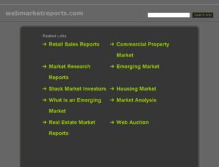 webmarketreports.com screenshot
