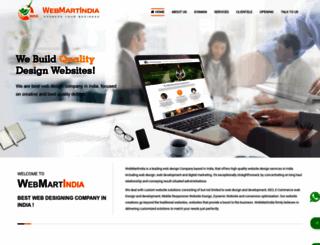 webmartindia.in screenshot