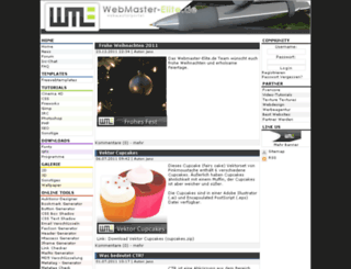 webmaster-elite.de screenshot
