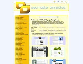 webmaster-templates.net screenshot